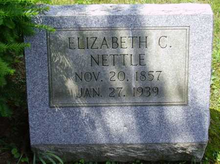 NETTLE, ELIZABETH C. - Stark County, Ohio | ELIZABETH C. NETTLE - Ohio Gravestone Photos