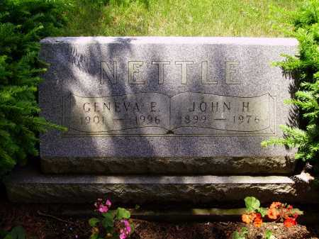 NETTLE, JOHN H. - Stark County, Ohio   JOHN H. NETTLE - Ohio Gravestone Photos
