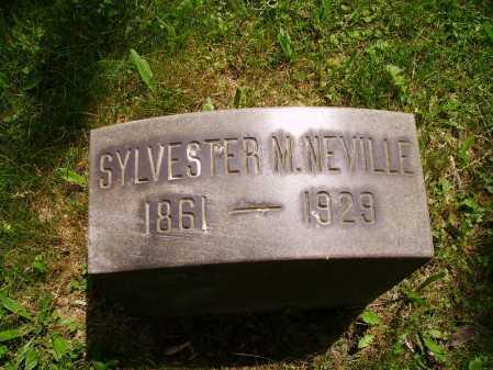 NEVILLE, SYLVESTER M. - Stark County, Ohio   SYLVESTER M. NEVILLE - Ohio Gravestone Photos