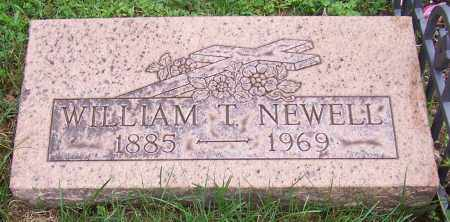 NEWELL, WILLIAM T. - Stark County, Ohio   WILLIAM T. NEWELL - Ohio Gravestone Photos