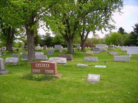NEWMAN CEMETERY, #1 OVER VIEW - Stark County, Ohio   #1 OVER VIEW NEWMAN CEMETERY - Ohio Gravestone Photos