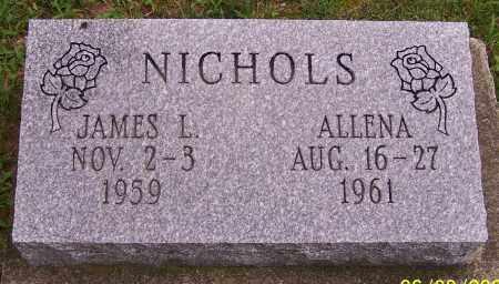 NICHOLS, ALLENA - Stark County, Ohio   ALLENA NICHOLS - Ohio Gravestone Photos