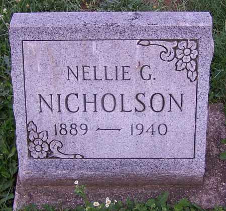LESELETIE NICHOLSON, NELLIE G. - Stark County, Ohio | NELLIE G. LESELETIE NICHOLSON - Ohio Gravestone Photos