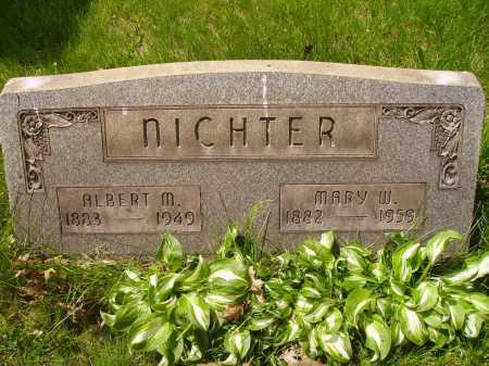 NICHTER, MARY W. - Stark County, Ohio | MARY W. NICHTER - Ohio Gravestone Photos