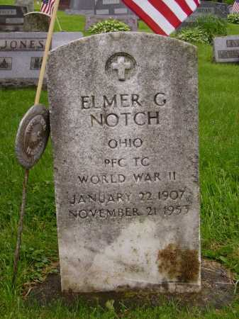 NOTCH, ELMER G. - Stark County, Ohio | ELMER G. NOTCH - Ohio Gravestone Photos