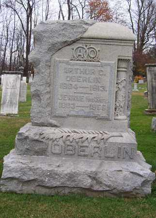 OBERLIN, JENNIE - Stark County, Ohio   JENNIE OBERLIN - Ohio Gravestone Photos