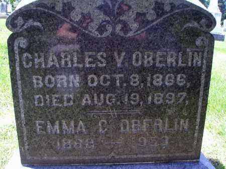 OBERLINE, EMMA CATHERINE - FRONT VIEW - Stark County, Ohio | EMMA CATHERINE - FRONT VIEW OBERLINE - Ohio Gravestone Photos