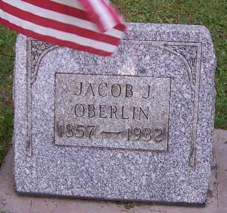 OBERLIN, JACOB J. - Stark County, Ohio   JACOB J. OBERLIN - Ohio Gravestone Photos