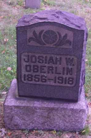 OBERLIN, JOSIAH W. - Stark County, Ohio | JOSIAH W. OBERLIN - Ohio Gravestone Photos