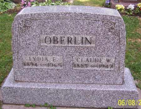 OBERLIN, LYDIA E. - Stark County, Ohio | LYDIA E. OBERLIN - Ohio Gravestone Photos
