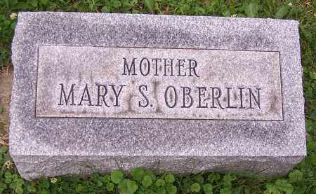 OBERLIN, MARY S. - Stark County, Ohio | MARY S. OBERLIN - Ohio Gravestone Photos