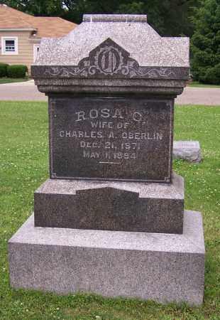 OBERLIN, ROSA O. - Stark County, Ohio | ROSA O. OBERLIN - Ohio Gravestone Photos