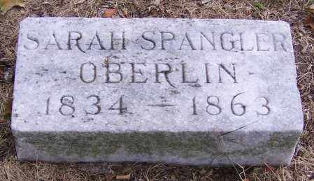 OBERLIN, SARAH SPANGLER - Stark County, Ohio   SARAH SPANGLER OBERLIN - Ohio Gravestone Photos