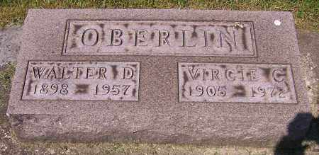 OBERLIN, WALTER D. - Stark County, Ohio | WALTER D. OBERLIN - Ohio Gravestone Photos