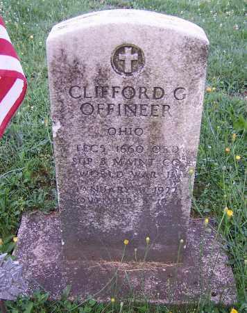 OFFINEER, CLIFFORD G. - Stark County, Ohio | CLIFFORD G. OFFINEER - Ohio Gravestone Photos