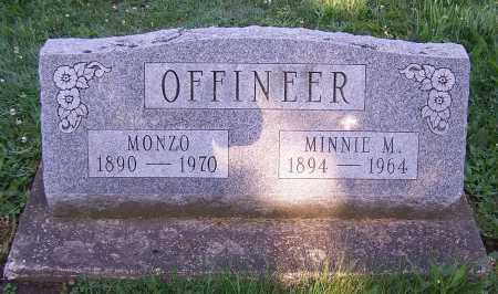 OFFINEER, MINNIE M. - Stark County, Ohio | MINNIE M. OFFINEER - Ohio Gravestone Photos