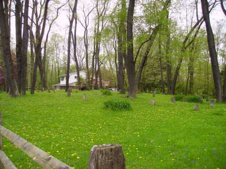 OLD PIONEER CEMETERY, #4 OVERVIEW - Stark County, Ohio | #4 OVERVIEW OLD PIONEER CEMETERY - Ohio Gravestone Photos