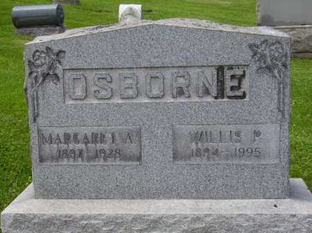 OSBORNE, MARGARET A. - Stark County, Ohio | MARGARET A. OSBORNE - Ohio Gravestone Photos