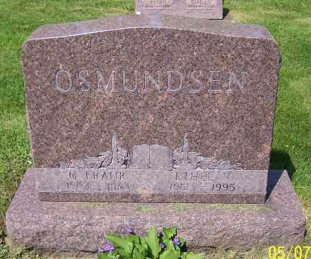 OSMUNDSEN, ETHEL V. - Stark County, Ohio | ETHEL V. OSMUNDSEN - Ohio Gravestone Photos