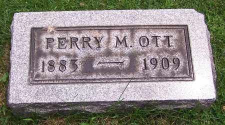 OTT, PERRY M. - Stark County, Ohio | PERRY M. OTT - Ohio Gravestone Photos