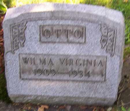 OTTO, WILMA VIRGINIA - Stark County, Ohio | WILMA VIRGINIA OTTO - Ohio Gravestone Photos