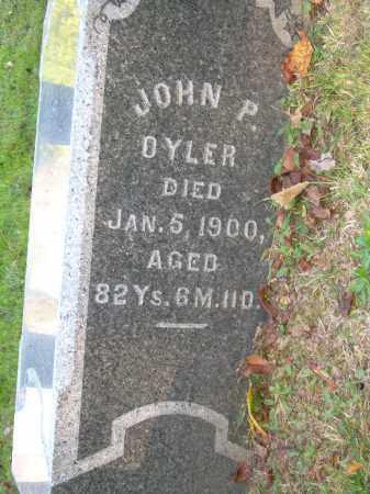 OYLER, JOHN P - Stark County, Ohio | JOHN P OYLER - Ohio Gravestone Photos