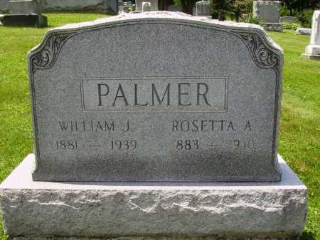 PALMER, WILLIAM J. - Stark County, Ohio | WILLIAM J. PALMER - Ohio Gravestone Photos