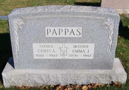 PAPPAS, CHRIS A. - Stark County, Ohio | CHRIS A. PAPPAS - Ohio Gravestone Photos