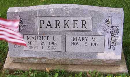 PARKER, MAURICE L. - Stark County, Ohio | MAURICE L. PARKER - Ohio Gravestone Photos