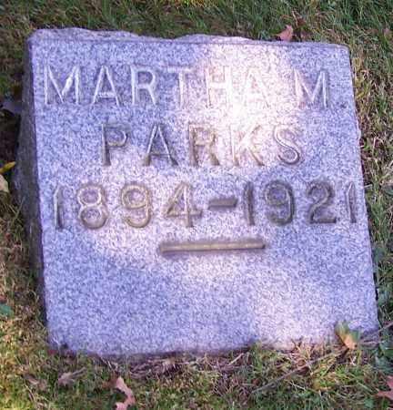 MONNAT PARKS, MARTHA M. - Stark County, Ohio | MARTHA M. MONNAT PARKS - Ohio Gravestone Photos