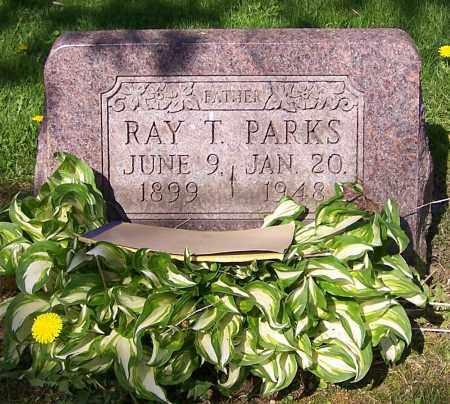 PARKS, RAY T. - Stark County, Ohio | RAY T. PARKS - Ohio Gravestone Photos