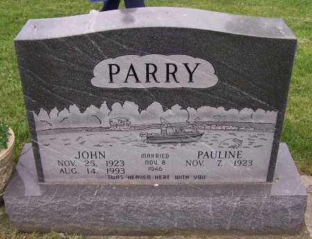 PARRY, JOHN - Stark County, Ohio | JOHN PARRY - Ohio Gravestone Photos