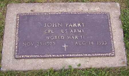 PARRY, JOHN  (MIL) - Stark County, Ohio   JOHN  (MIL) PARRY - Ohio Gravestone Photos