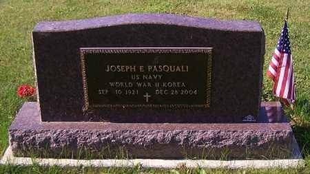 PASQUALI, JOSEPH E.  (MIL) - Stark County, Ohio | JOSEPH E.  (MIL) PASQUALI - Ohio Gravestone Photos