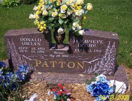 PATTON, JANAVIEVE (KIDD) - Stark County, Ohio | JANAVIEVE (KIDD) PATTON - Ohio Gravestone Photos