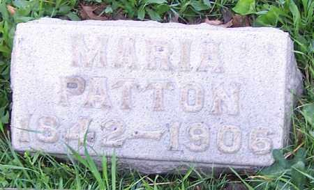 PATTON, MARIA - Stark County, Ohio | MARIA PATTON - Ohio Gravestone Photos