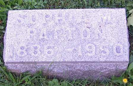 DUNNE PATTON, SOPHIA M. - Stark County, Ohio | SOPHIA M. DUNNE PATTON - Ohio Gravestone Photos