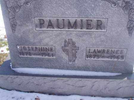 PAUMIER, LAWRENCE - Stark County, Ohio | LAWRENCE PAUMIER - Ohio Gravestone Photos