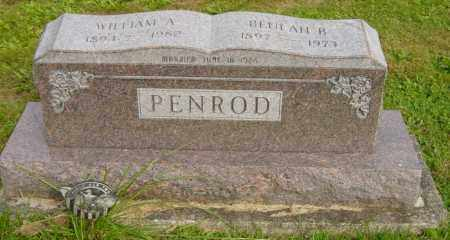 PENROD, WILLIAM A. - Stark County, Ohio | WILLIAM A. PENROD - Ohio Gravestone Photos