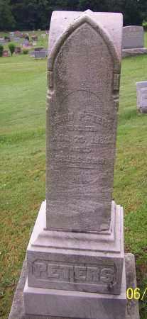 PETERS, JOHN - Stark County, Ohio   JOHN PETERS - Ohio Gravestone Photos