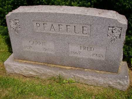 BALTZ PFAFFLE, CARRIE - Stark County, Ohio | CARRIE BALTZ PFAFFLE - Ohio Gravestone Photos
