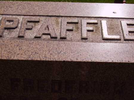 PFAFFLE, FREDERICK - TOP VIEW - Stark County, Ohio | FREDERICK - TOP VIEW PFAFFLE - Ohio Gravestone Photos