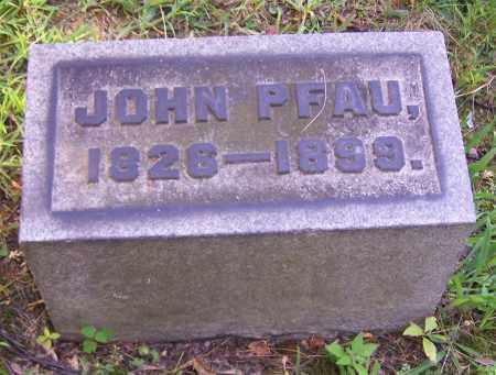 PFAU, JOHN - Stark County, Ohio | JOHN PFAU - Ohio Gravestone Photos