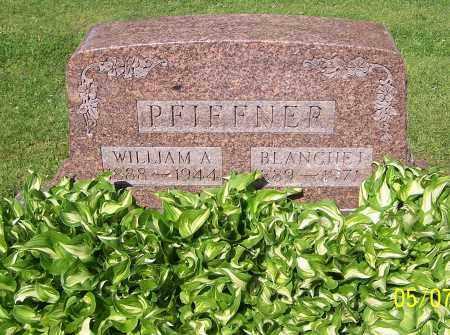 PFIFFNER, WILLIAM A. - Stark County, Ohio   WILLIAM A. PFIFFNER - Ohio Gravestone Photos