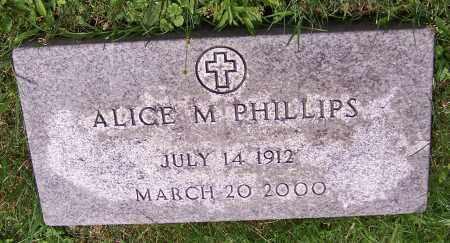 PHILLIPS, ALICE M. - Stark County, Ohio | ALICE M. PHILLIPS - Ohio Gravestone Photos