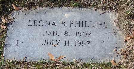 PHILLIPS, LEONA B. - Stark County, Ohio | LEONA B. PHILLIPS - Ohio Gravestone Photos