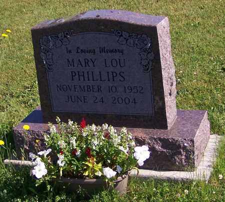 PHILLIPS, MARY LOU - Stark County, Ohio | MARY LOU PHILLIPS - Ohio Gravestone Photos