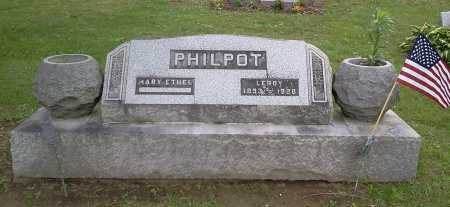 PHILPOT, LEROY - Stark County, Ohio | LEROY PHILPOT - Ohio Gravestone Photos
