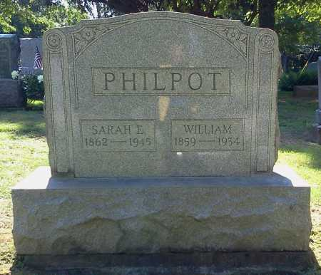 PHILPOT, SARAH ELLEN - Stark County, Ohio | SARAH ELLEN PHILPOT - Ohio Gravestone Photos