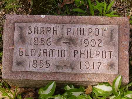 PHILPOT, BENJAMIN - Stark County, Ohio | BENJAMIN PHILPOT - Ohio Gravestone Photos